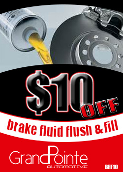 Brake Flush and Fill Save $10 Flint mi