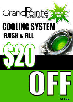 Coolant Flush and Fill save $20 Flint mi
